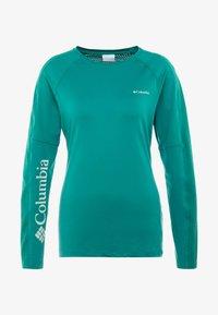 Columbia - WINDGATES™ TEE - Sports shirt - petrol - 3