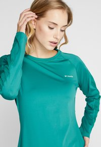 Columbia - WINDGATES™ TEE - Sports shirt - petrol - 4