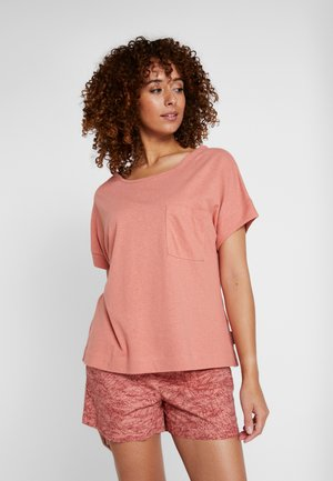 SUMMER CHILL TEE - T-shirt basique - cedar rush