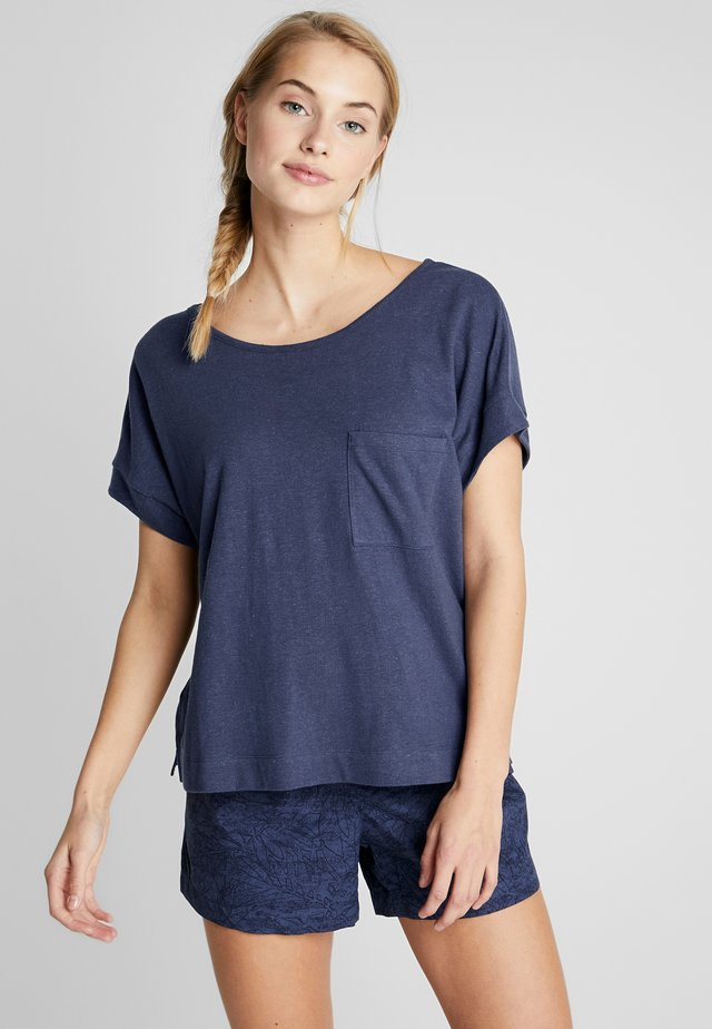 SUMMER CHILL TEE - T-shirt basic - nocturnal