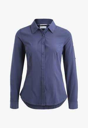 Button-down blouse - nocturnal