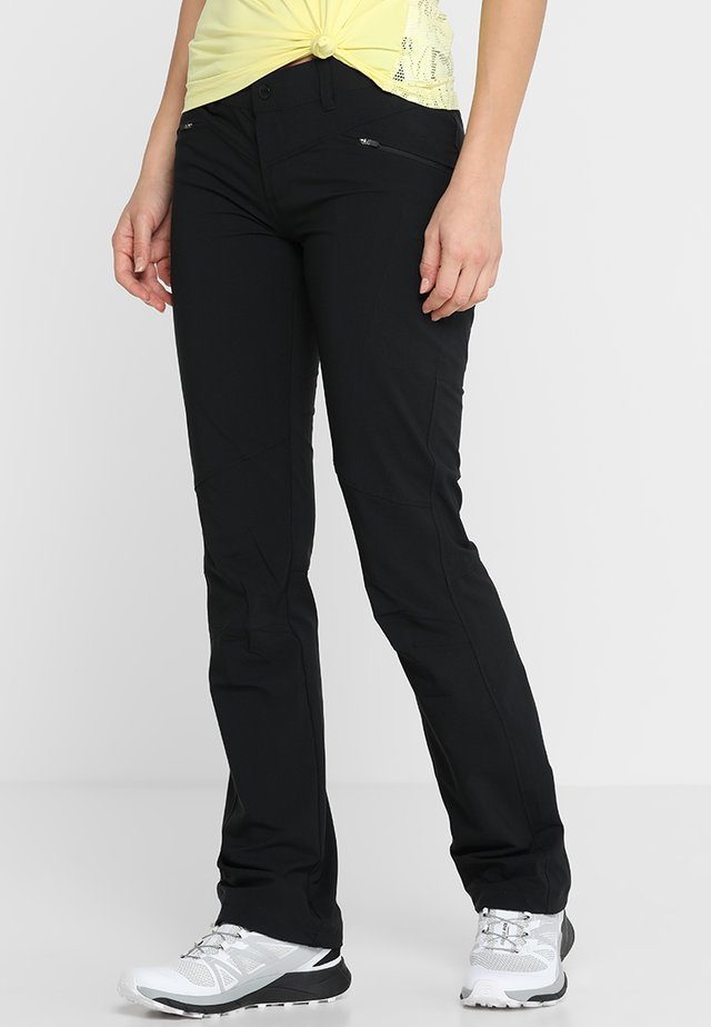 PEAK TO POINT PANT - Kalhoty - black
