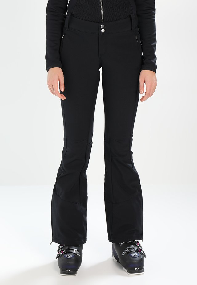 ROFFE RIDGE - Snow pants - black