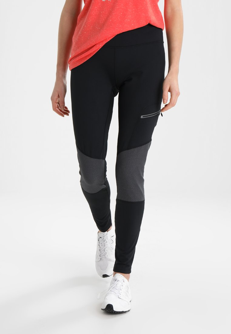 Columbia - TITAN PEAK TREKKING LEGGING - Tights - black/shark
