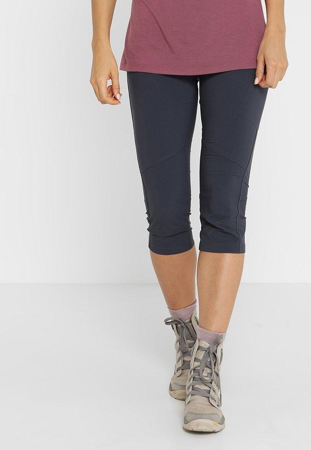 PEAK TO PANT - 3/4 sportovní kalhoty - grey