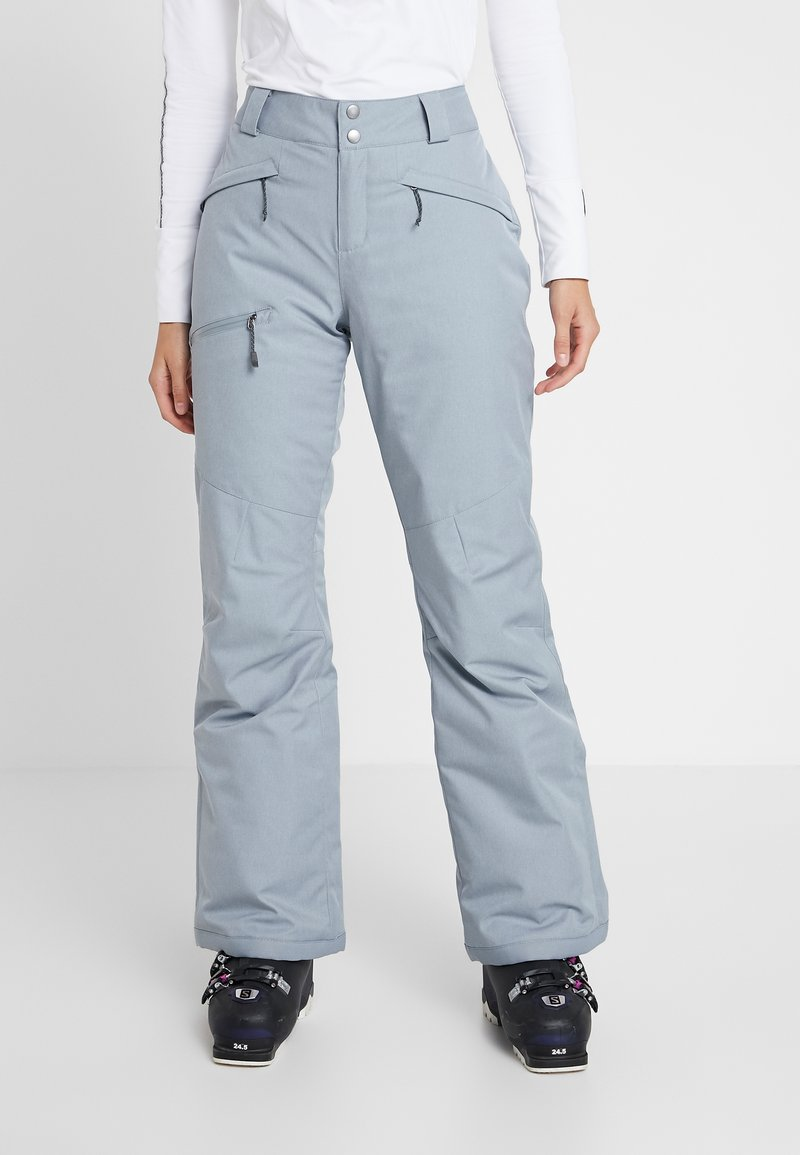 Columbia - WILDSIDE PANT - Spodnie narciarskie - tradewinds grey heather