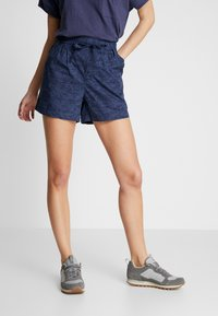 Columbia - SUMMER CHILL SHORT - Sports shorts - nocturnal wispy bamboos - 0