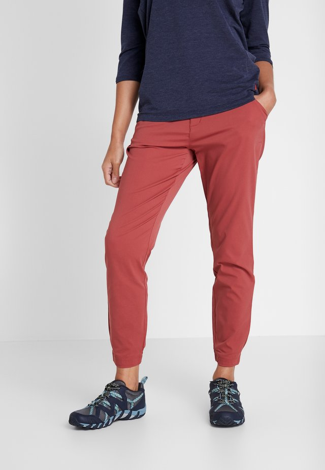 FIRWOOD CAMP PANT - Spodnie materiałowe - dusty crimson