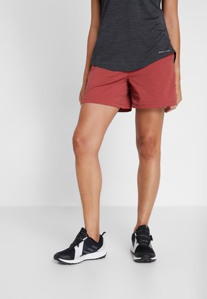 FIRWOOD CAMP SHORT - Sports shorts - dusty crimson