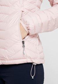 Columbia - POWDER LITE HOODED JACKET - Veste d'hiver - dusty pink - 6