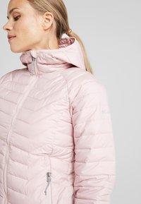 Columbia - POWDER LITE HOODED JACKET - Veste d'hiver - dusty pink - 3