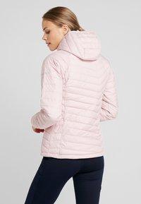 Columbia - POWDER LITE HOODED JACKET - Veste d'hiver - dusty pink - 2