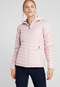 Columbia - POWDER LITE HOODED JACKET - Veste d'hiver - dusty pink - 0