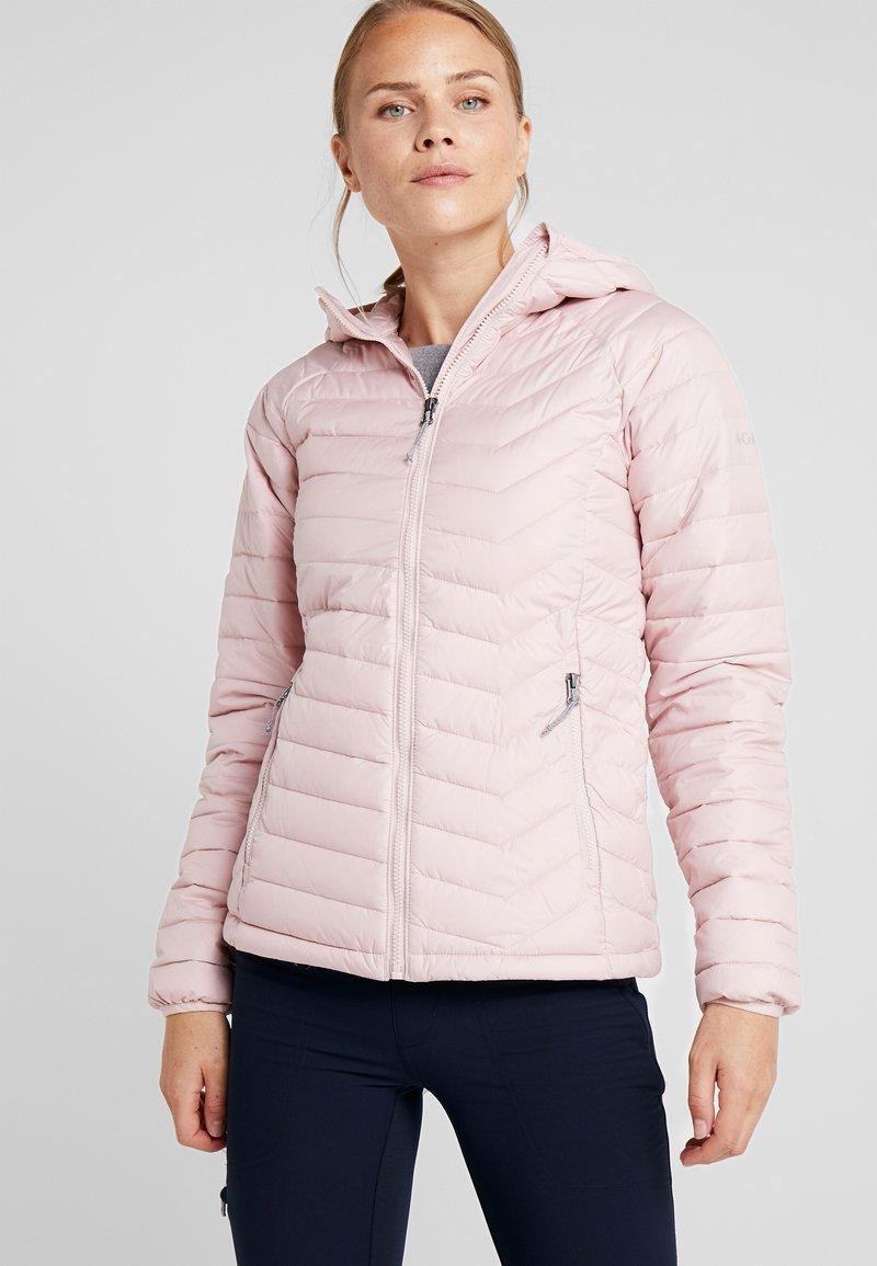 Columbia - POWDER LITE HOODED JACKET - Veste d'hiver - dusty pink