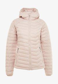 Columbia - POWDER LITE HOODED JACKET - Veste d'hiver - dusty pink - 5