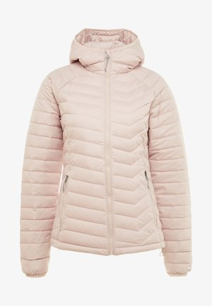 POWDER LITE HOODED JACKET - Winter jacket - dusty pink