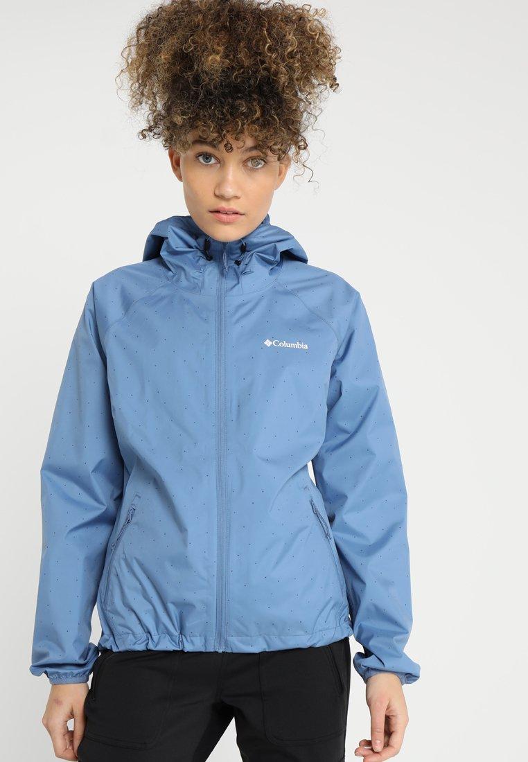 Columbia - ULICA - Regnjakke / vandafvisende jakker - blue dusk