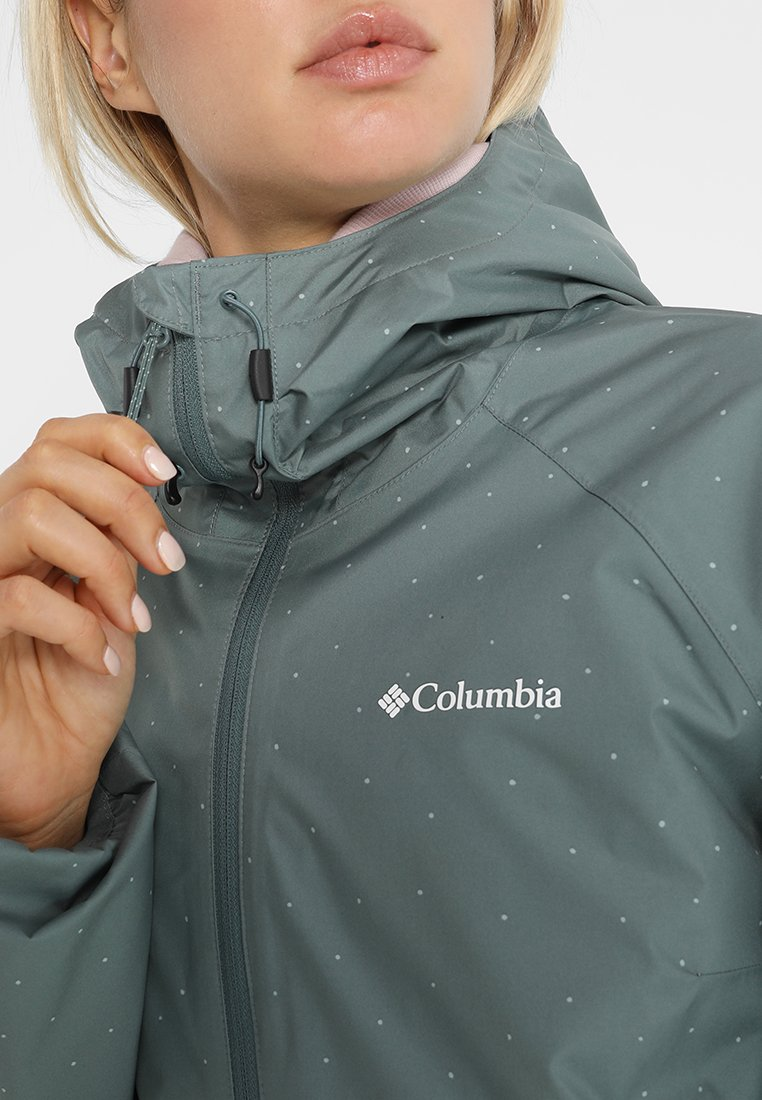 Columbia Ulica Chaqueta Impermeable Mujer