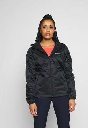 ULICA - Waterproof jacket - black sheen