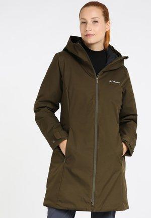 AUTUMN RISE - Winter coat - olive green