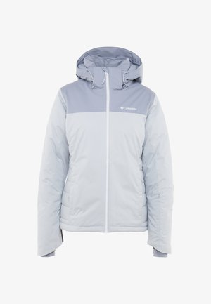 SNOW DREAM - Ski jacket - cirrus grey heather/tradewinds grey