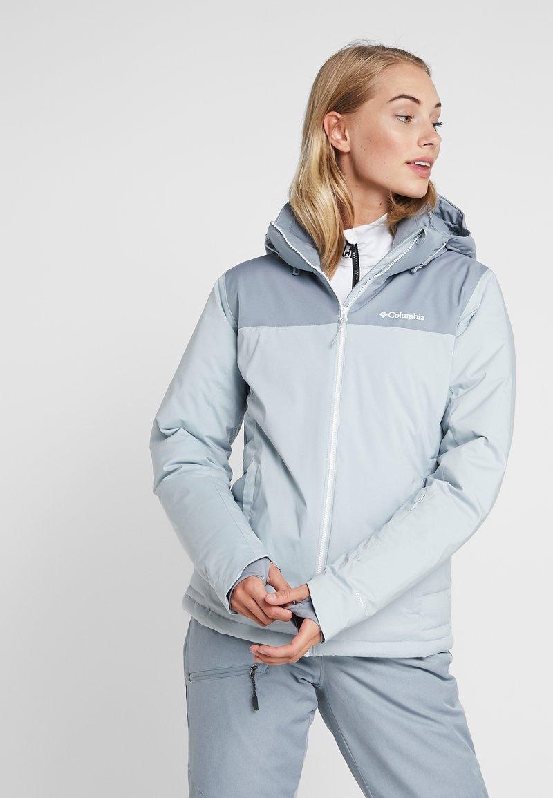Columbia - SNOW DREAM - Lyžařská bunda - cirrus grey heather/tradewinds grey