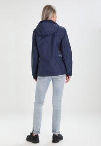 Columbia - POURING ADVENTURE JACKET - Hardshell jacket - dark blue - 2