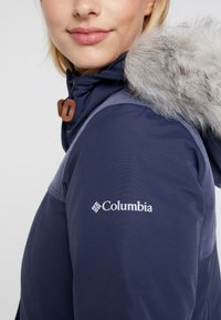 Columbia - LINDORES™ JACKET - Cappotto invernale - nocturnal/dark nocturnal heather - 6