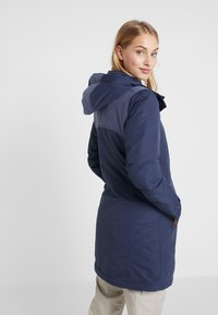 Columbia - LINDORES™ JACKET - Cappotto invernale - nocturnal/dark nocturnal heather - 3