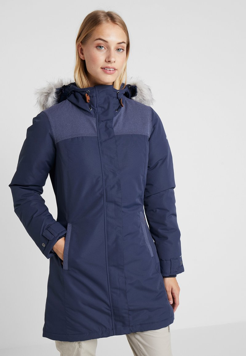 Columbia - LINDORES™ JACKET - Cappotto invernale - nocturnal/dark nocturnal heather