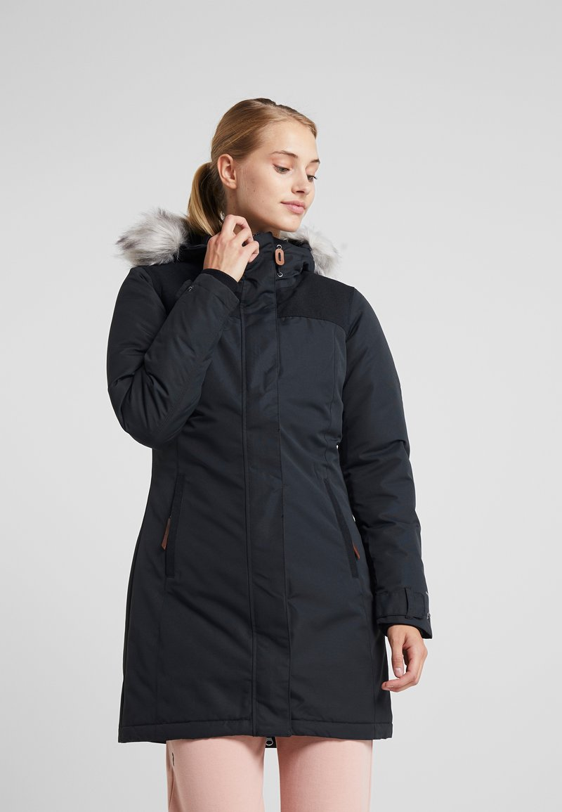 Columbia - LINDORES™ JACKET - Wintermantel - black