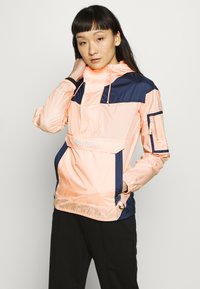 Columbia - CHALLENGER - Veste coupe-vent - peach cloud/nocturnal/white - 0