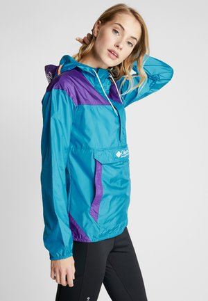 CHALLENGER - Veste coupe-vent - clear water/vivid blue