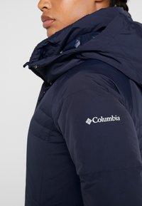Columbia - RUBY FALLS LONG JACKET - Dunkåpe / -frakk - dark nocturnal - 8