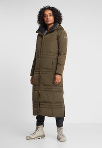 Columbia - RUBY FALLS LONG JACKET - Doudoune - olive green - 0