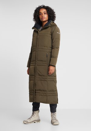 RUBY FALLS LONG JACKET - Donsjas - olive green