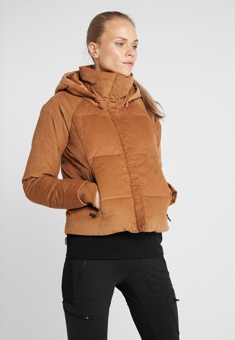 Columbia - RUBY FALLS JACKET - Daunenjacke - camel brown corduroy