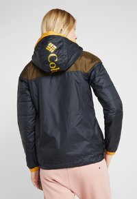 Columbia - LODGE JACKET - Outdoorjas - black/olive green - 2