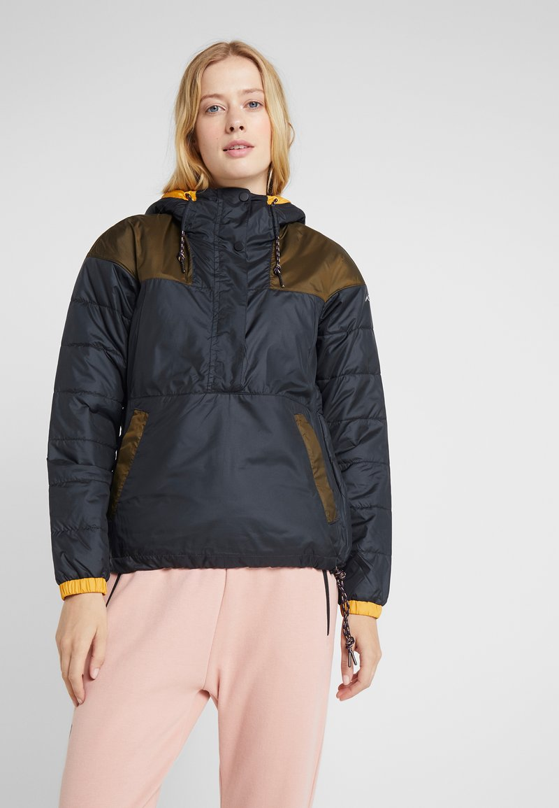Columbia - LODGE JACKET - Outdoor jacket - black/olive green