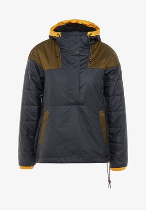 LODGE JACKET - Ulkoilutakki - black/olive green