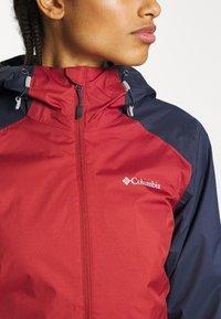 Columbia - INNER LIMITS™ JACKET - Outdoor jacket - dusty crimson/nocturnal - 4