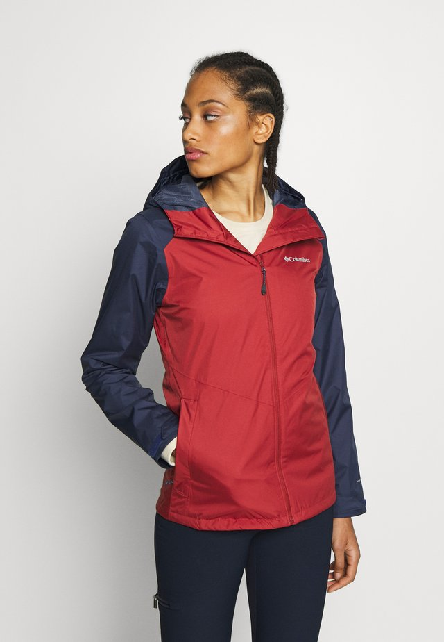 INNER LIMITS™ JACKET - Outdoorová bunda - dusty crimson/nocturnal