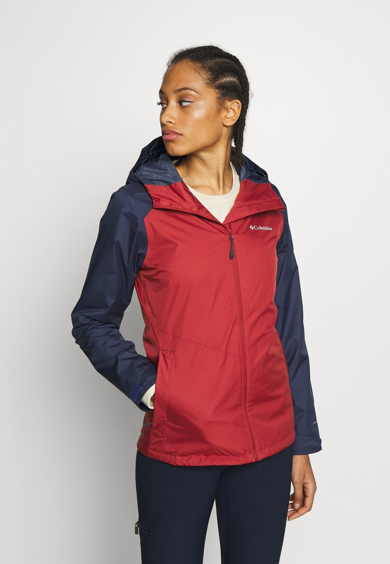 Columbia - INNER LIMITS™ JACKET - Outdoorjas - dusty crimson/nocturnal
