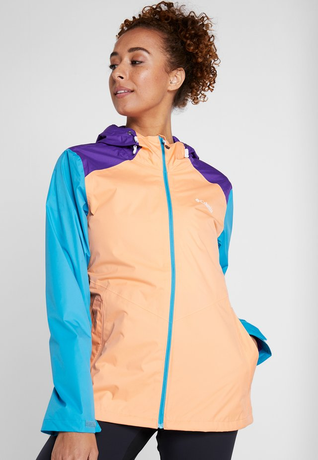 INNER LIMITS™ JACKET - Outdoorová bunda - bright nectar/clear water/vivid purple