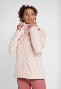Columbia - WINDGATES JACKET - Hardshell jacket - peach cloud - 0