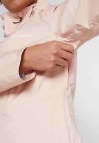 Columbia - WINDGATES JACKET - Hardshell jacket - peach cloud - 5