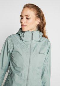 Columbia - WINDGATES JACKET - Hardshell jacket - light lichen - 3