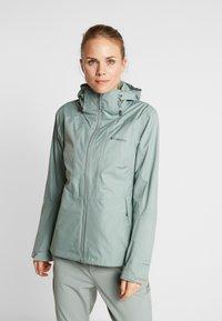 Columbia - WINDGATES JACKET - Hardshell jacket - light lichen - 0