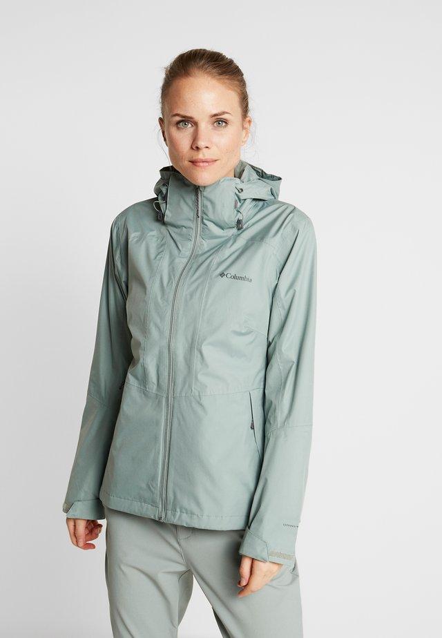 WINDGATES JACKET - Hardshell jacket - light lichen