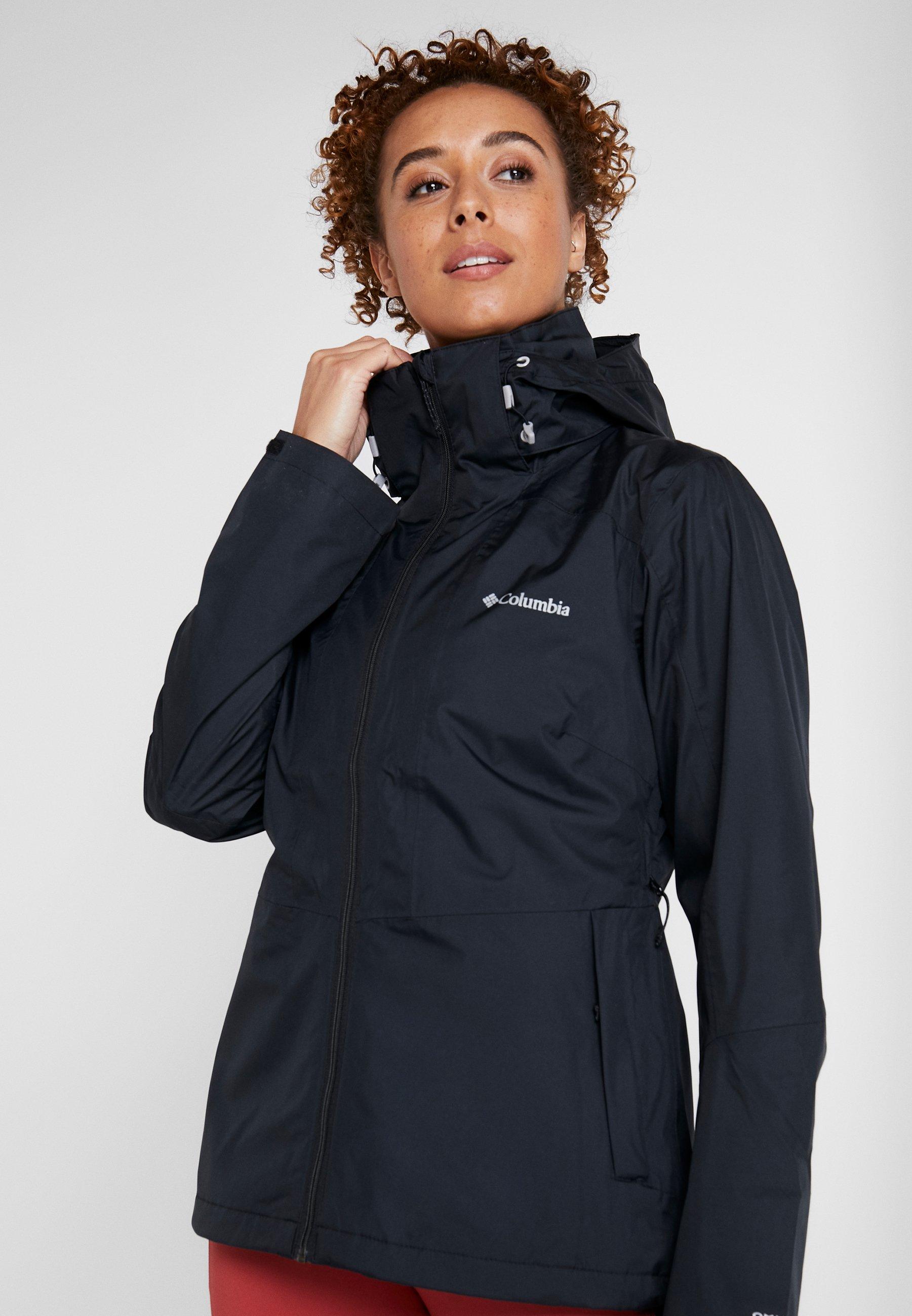 Columbia WINDGATES JACKET - Hardshell jacket - black